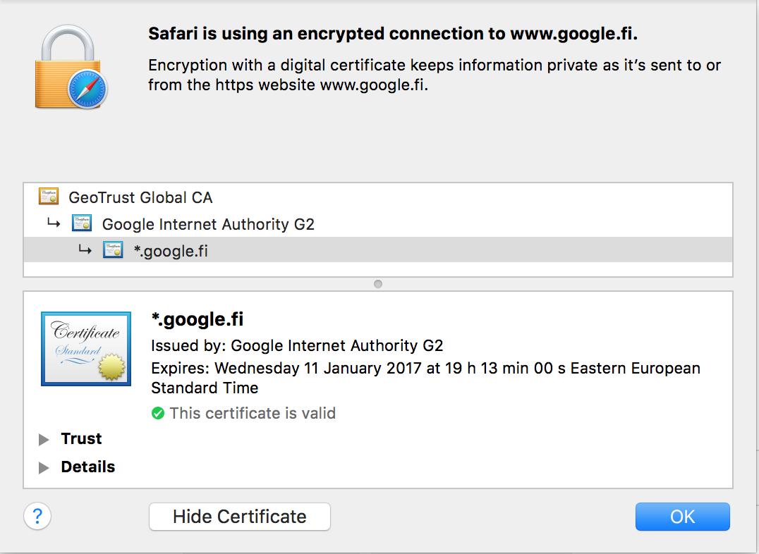 PKI Certificate